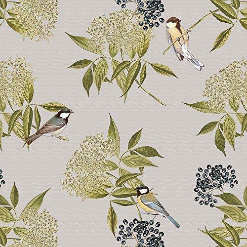 designer-tappezzeria-tenda-tessuto-cucito-uccelli-su-elderflower-lakeland-collezione-progettato-stam