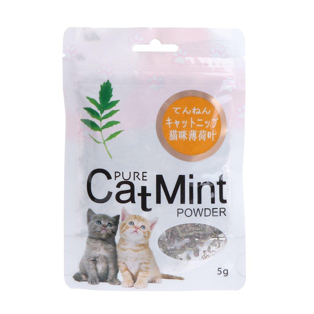 Yanhonin Catnip Juguete–Bola de Hierba de Gato–Nepeta Cataria–Bio–Dulces de mascar para Gato–para Animal doméstico