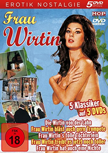 Frau Wirtin - Erotik Nostalgie - 5 DVDs: Die Wirtin von der Lahn, Frau Wirtin's tolle Töchterlein, Frau Wirtin bläst auch gern Trompete, Frau Wirtin ... noch toller, Frau Wirtin hat auch eine Nichte