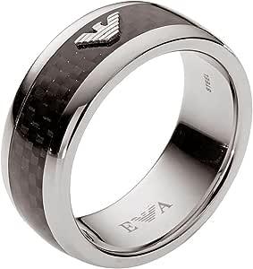 Armani-Anello in acciaio inox, EGS 1602040-9