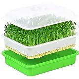 ZoneYan Seed Sprouter, Bandeja Germinadora de Brotes, Bandejas para Cultivo Hidroponico, Bandeja de Vivero, Bandeja de Semill