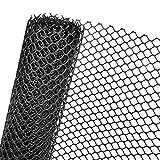 1,3m² RASENSCHUTZGITTER in 1,3m Br., UV-beständig, 600g/m² Gewicht, schwarz (METERWARE)