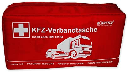 Kalff 7151 Verbandtasche DIN 13164, Rot