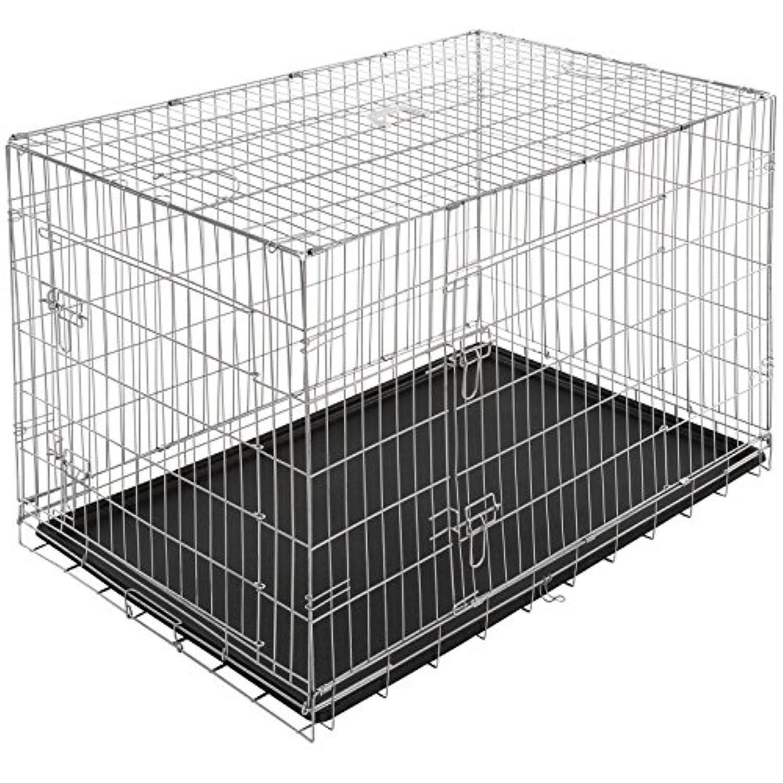 Leopet - Cage de Transport Pliable pour Chien avec 2