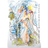 """DIBUJO AL PASTEL: """"Herrante"""". Dibujo sobre papel. Técnica: pastel. Obra única. Formato: 64 x 45 cm."""