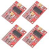 Akozon Verstärkerplatine 4 stücke 5 V USB Powered 2 Kanäle 3 Watt Mini Digital Audio Endverstärker Boards