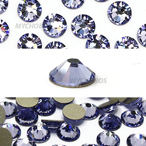 Provence Lavender (283) Swarovski 2058Xilion/New 2088Xirius, Kristallgröße SS20flatbacks No Hotfix Nail Art Strass 5mm SS20, * * kostenfrei Versand aus Jet (280) * * violett - Supplies Usa Art Nail