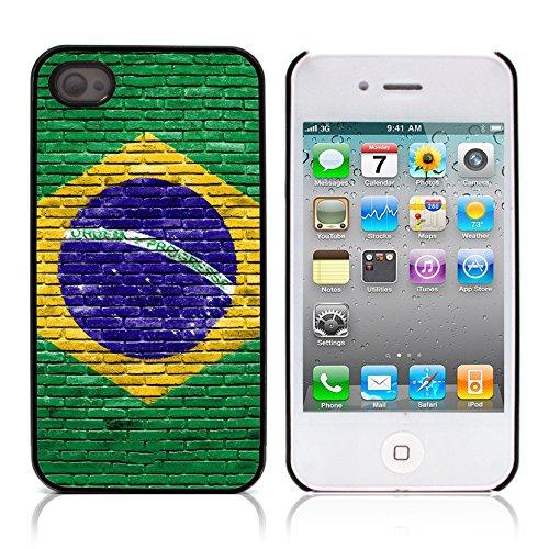 Graphic4You WET WOODEN PLANKS Muster Harte Hülle Case Tasche Schutzhülle für APPLE IPHONE 4 und 4S Design #6