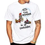 MardeTé Camiseta Esto es una Despedida no un cumpleaños. Camiseta para Despedida de Solteros. Ideal para Grupos de Amigos en