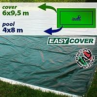 Telo di copertura invernale per piscina 4 x 8 mt