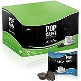 100 CAPSULE POP CAFFE' E-MIO 4 DECAFFEINATO COMPATIBILI LAVAZZA A MODO MIO