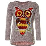 BEZLIT Mädchen Pullover Pulli Wende-Pailletten Sweatshirt Vogel Motiv 21601 Rosa Größe 140 Test