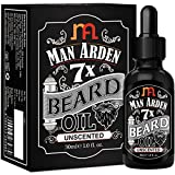 #6: Man Arden 7X Beard Oil 30ml (Unscented) - 7 Premium Oils For Beard Growth & Nourishment