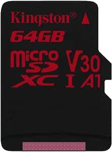Kingston Microsd Canvas React Sdcr 64gbsp Class 10 Computers Accessories