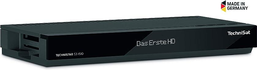 TechniSat Technistar S3 ISIO HD Sat Receiver (HDTV, DVB-S2, HDMI, Scart, Smart TV, Aufnahmefunktion, App-Steuerung, Live-TV-Streaming, USB 2.0, LAN)