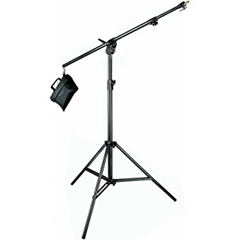 Manfrotto Boom Stand Black Aluminium with Sandbag