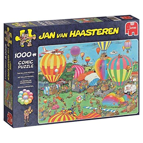 Preisvergleich Produktbild Jan van Haasteren - Das Ballonfestival - 1000 Teile Puzzle