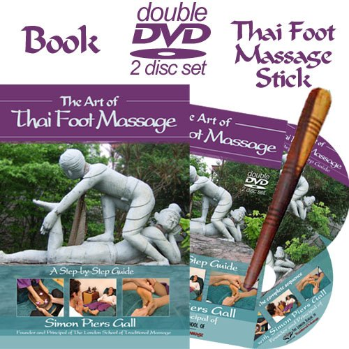 the-art-of-thai-foot-massage-double-dvd-book-and-free-thai-foot-massage-stick
