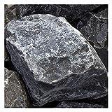 zierkiesundsplitt Ardennen Grau Gabionensteine Bruchsteine 1500kg Big Bag 60-90mm