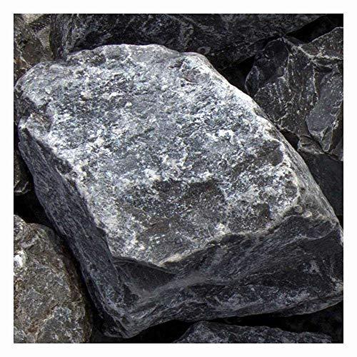 zierkiesundsplitt Ardennen grau Gabionensteine Bruchsteine 500kg Big Bag 60-90mm