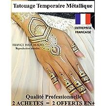 Amazon Fr Tatouage Main Femme Henne