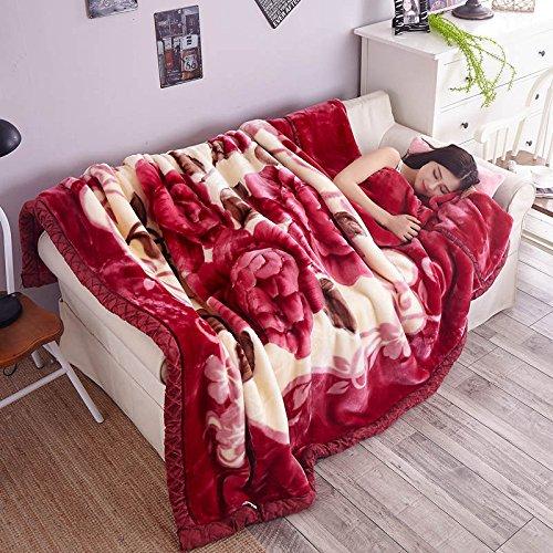 BDUK Das ehemalige Jugoslawien in den Herbst und Winter neuen Dicken warmen Flanell Faller flauschige Decke Decken Blanket-Fleece Raschel Nahum Ll Bean Schal