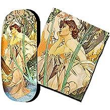 Gafas funda y paño para limpieza, Vincent Van Gogh–Espada Lirios Iris