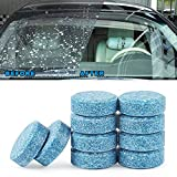BZQamy Auto Car Windshield Glass Washer Window Cleaner Safe Compact Effervescent Tablets Detergent