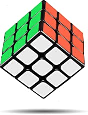D ETERNAL ABS Plastic 3x3x3 High Speed Stickerless Magic Rubick Cube