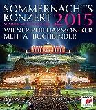 Sommernachtskoncert 2015: Wiener Philharmoniker (Mehta) [Blu-ray]