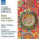 Fernando Lopes-Gra�a : Concertos pour piano n� 1 et n� 2