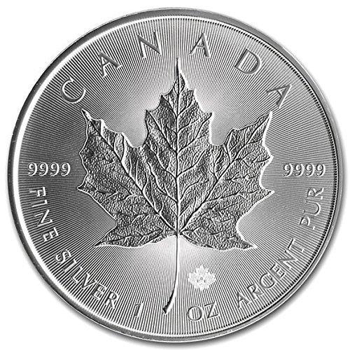 Preisvergleich Produktbild 2016 SILVER MAPLE LEAF COIN 1 oz 9999 PURE by Royal Canadian Mint