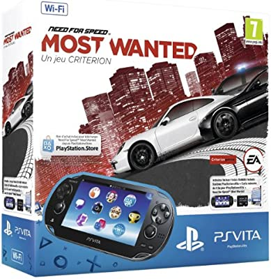 Console Playstation Vita Wifi + Need for Speed : most wanted (50 euros remboursés en plus) [Importación francesa]
