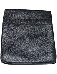 Soft Quality Leather Snap Top Coin Purse - Various Colours