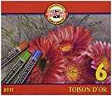 KOH-I-NOOR 8511 Pastellkreide - 6 Farben
