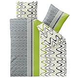 CelinaTex Winter Bettwäsche 200x220 Microfaser Fleece Bettbezug mit 80x80 Kissenbezug