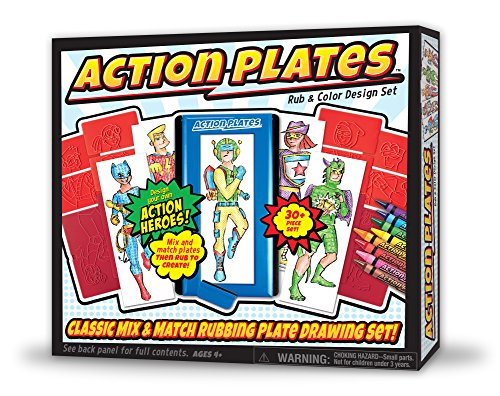 Kahootz Action Assiettes Dessin Playset