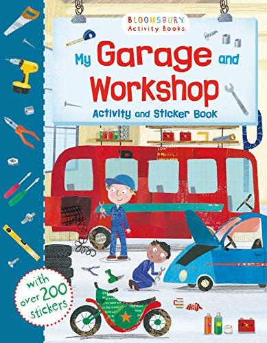 My Garage And Workshop Activity And Sticker Book (Sticker Activity Books)