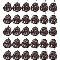 Caja De Fertilizante Con Tapa Caja De Fertilizante Herramientas De Jardinería Herramientas Bonsai Caja De Fertilizante Embellecimiento De Flores Contenedor De Fertilizante De Liberación Lenta Marrón