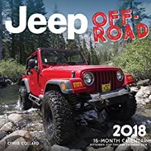 Jeep Off-Road 2018: 16 Month Calendar Includes September 2017 Through December 2018 (Calendars 2018)