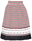 Küstenluder Damen Rock Robbin Sailor Anker Vintage Skirt Mehrfarbig XL