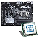 Intel Core i5-8500 / ASUS Z370-P Mainboard Bundle | CSL PC Aufrüstkit | Intel Core i5-8500 6X 3000 MHz, Intel UHD Graphics 630, GigLAN, 7.1 Sound, USB 3.1 | Aufrüstset | PC Tuning Kit