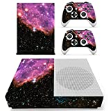 Stillshine Xbox One S Vinly Skin Protective Sticker Konsole & 2 Controller Decal Sticker & Kamera Kinect 2.0 Pink/Schwarz (Starry Pink-Black)
