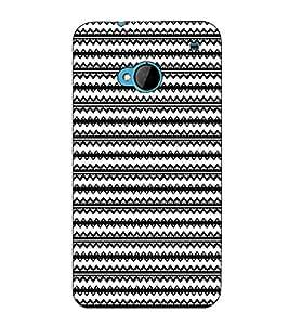 Fuson Designer Back Case Cover for HTC M7 :: HTC One M7 (The designer pattern )