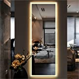 Infinite Reflections Glass Wall Mirror (18 x 48 inch, Silver)