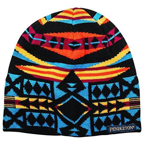 Pendleton Unisex Knit Watch Cap La Paz Black Hat