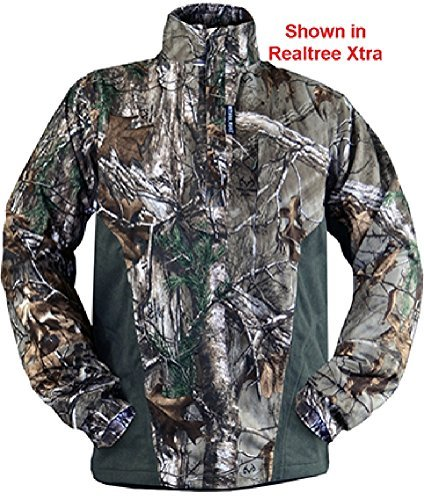 Rivers West Apparel Isolation Pullover Fleece Mossy Oak Country Xlarge by Rivers West