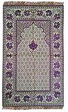 Hazal Simli Seccade – Glitzerndes Gebetsteppich – Glistening Prayer Bug/mat (120cm X 68cm)