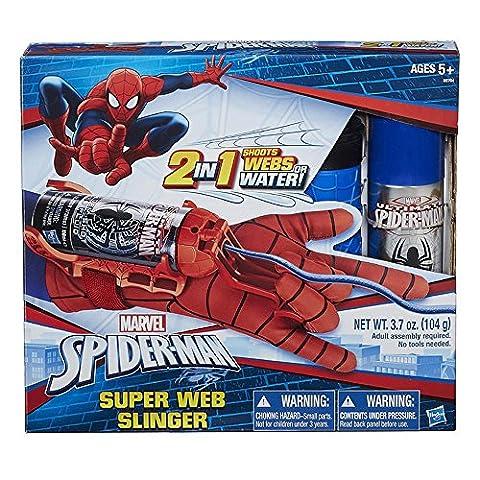 Hasbro Spider-Man Mega Blast Web Shooter mit Handschuh (Spiderman Web)