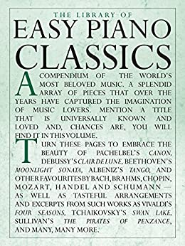 The Library of Easy Piano Classics par [Publications, Amsco]